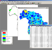 Example of using GIS to create an HLC